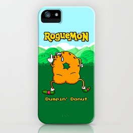Dumpin' Donut iPhone Case