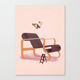 Skateable Chair | Aalto Canvas Print