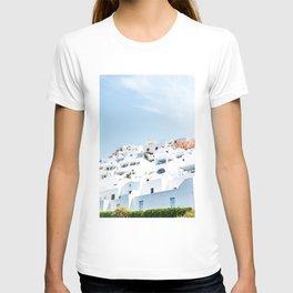 Lost in Santorini Greece T-shirt