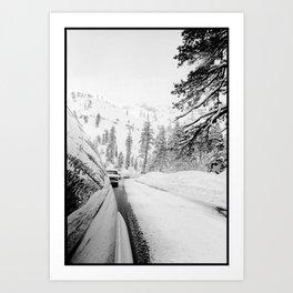 Alpine Reflection Art Print