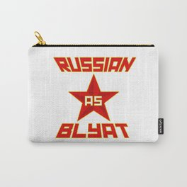 Russian as Blyat Carry-All Pouch