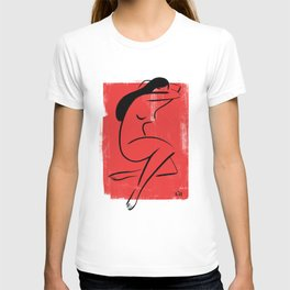 Red Girl 1 T-shirt
