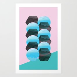 clonixina Art Print