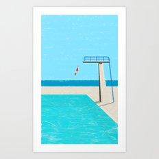pool-4 Art Print