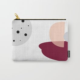 Organic Modern Dots Design Print Carry-All Pouch