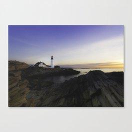 Sunrise in Maine Canvas Print