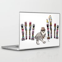 saga Laptop & iPad Skins featuring Department Store Saga by Olive Primo Design + Illustration