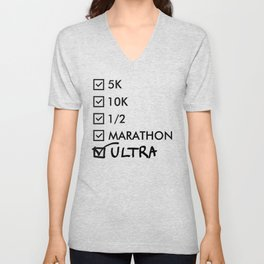 Ultra Marathon Running Unisex V-Neck
