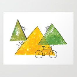 Ride Bike Art Print