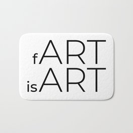 fArt is Art Bath Mat