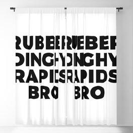 Rubber Dinghy Rapids Bro Blackout Curtain