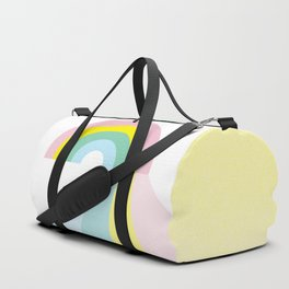 Life is a journey, Enjoy the Pride! #rainbow #Pride #lifestyle Duffle Bag