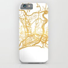 NICE FRANCE CITY STREET MAP ART iPhone 6s Slim Case