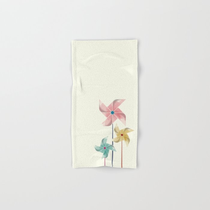 Pinwheels Hand & Bath Towel