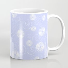 White Spirals Coffee Mug