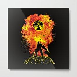 Nuke 'Em All! Metal Print