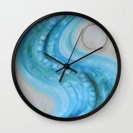 Tyrkysová cesta Wall Clock