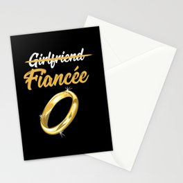 Girlfriend Fiancee Stationery Cards