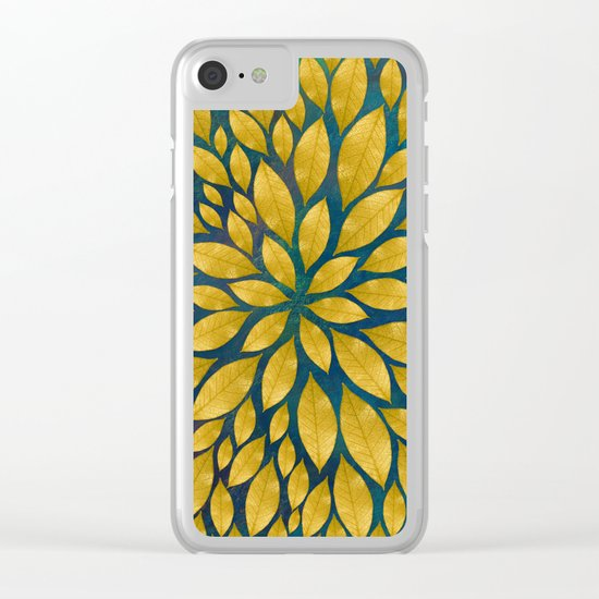 Petal Burst #18 Clear iPhone Case