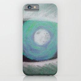 Werewolf Green Eye iPhone Case
