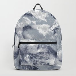 Marble Mist Cool Grey Backpack