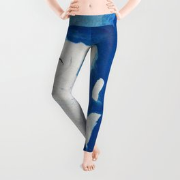 Blue Purin Leggings