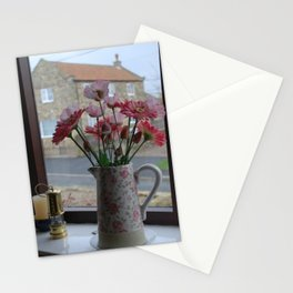 Romantic Window Stationery Cards