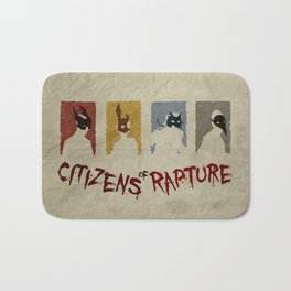 Bioshock - Citizens of Rapture Bath Mat