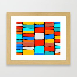 Cargo Ship Containers 8 Framed Art Print