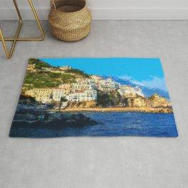 Positano, beauty of Italy Rug