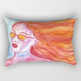 California Girl Rectangular Pillow