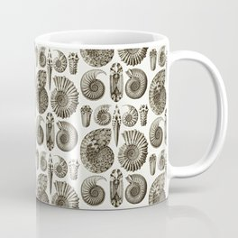 Ernst Haeckel Ammonitida Ammonite Coffee Mug