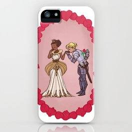 The Queen and Her Knight iPhone Case