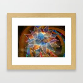 Fly for The Buddah Framed Art Print