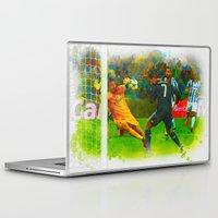 ronaldo Laptop & iPad Skins featuring Cristiano Ronaldo - Job Done by Don Kuing
