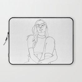 Fashion illustration drawing - Callie Laptop Sleeve