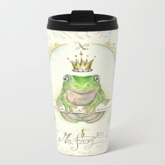 A prince for me.  PrinceFrog Metal Travel Mug