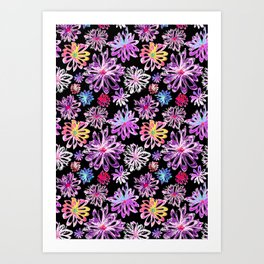 Painted Floral II Art Print