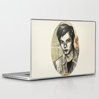 calvin Laptop & iPad Skins featuring Calvin Love by CHAR ODEN