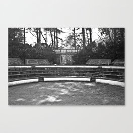 Greek Theatre Canvas Print