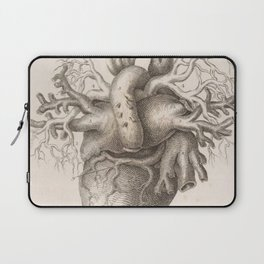 The Back Of The Heart Laptop Sleeve