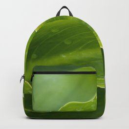 Ripple of Leaves Abstraction Backpack