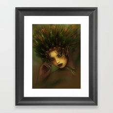 Young Earth Framed Art Print