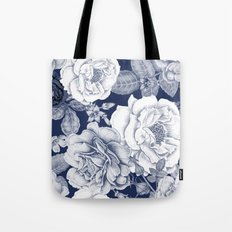 BLUE NATURE - FLOWERS Tote Bag