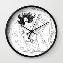asc 547 - My New Year's resolutions - September  Wall Clock