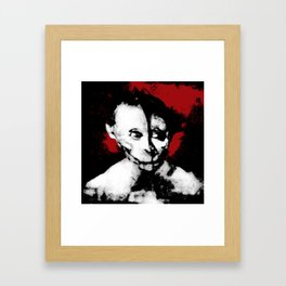 The Man Who Looks Like a Famous Person Framed Art Print