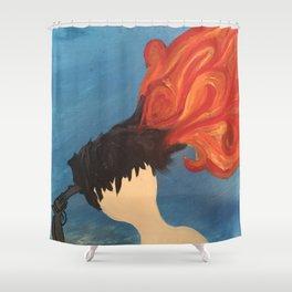 One Shot Shower Curtain
