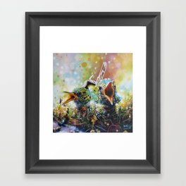 Welcome to Life Framed Art Print