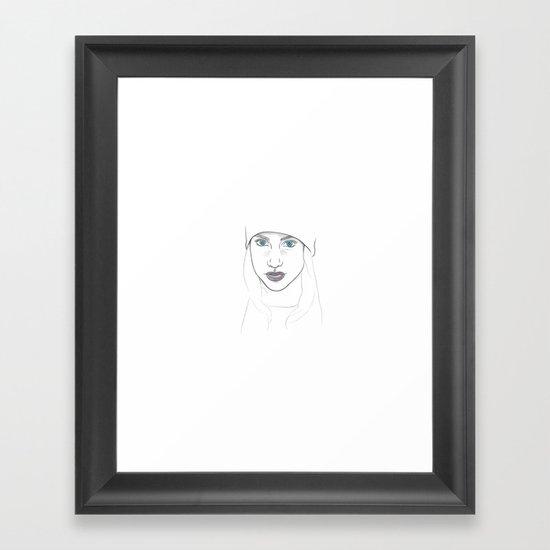 Winter's Child Framed Art Print