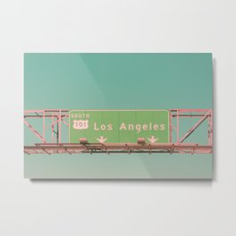 Los Angeles Highway Metal Print